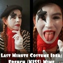 Last Minute Costume Idea: French Kiss Mime