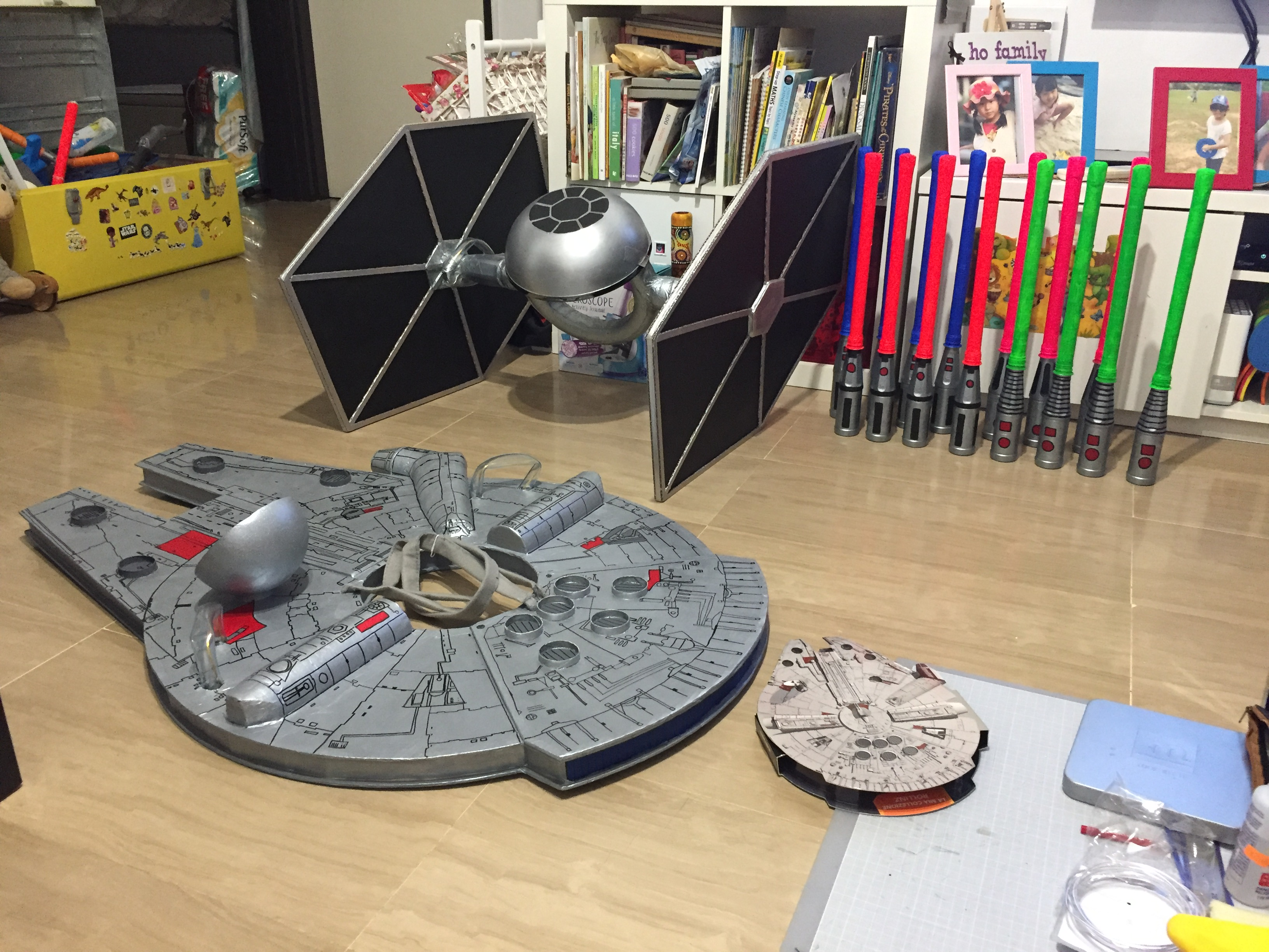 Picture of Make Your Own Millennium Falcon for Your Child