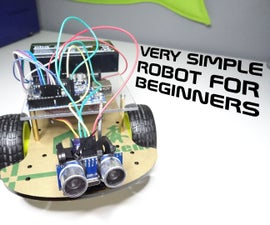 Very simple robot for beginners