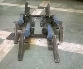 Six leg hydraulically driven spider