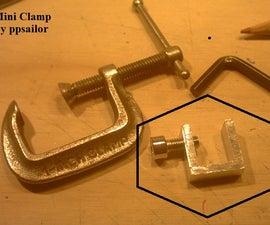 Mini Clamp.- Home made tool