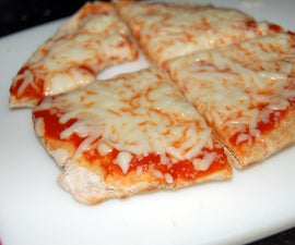 Pita Pizza: The Five Minute Snack
