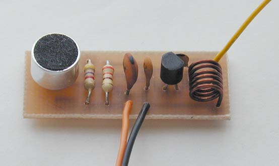 Picture of FM Bugger Circuit.