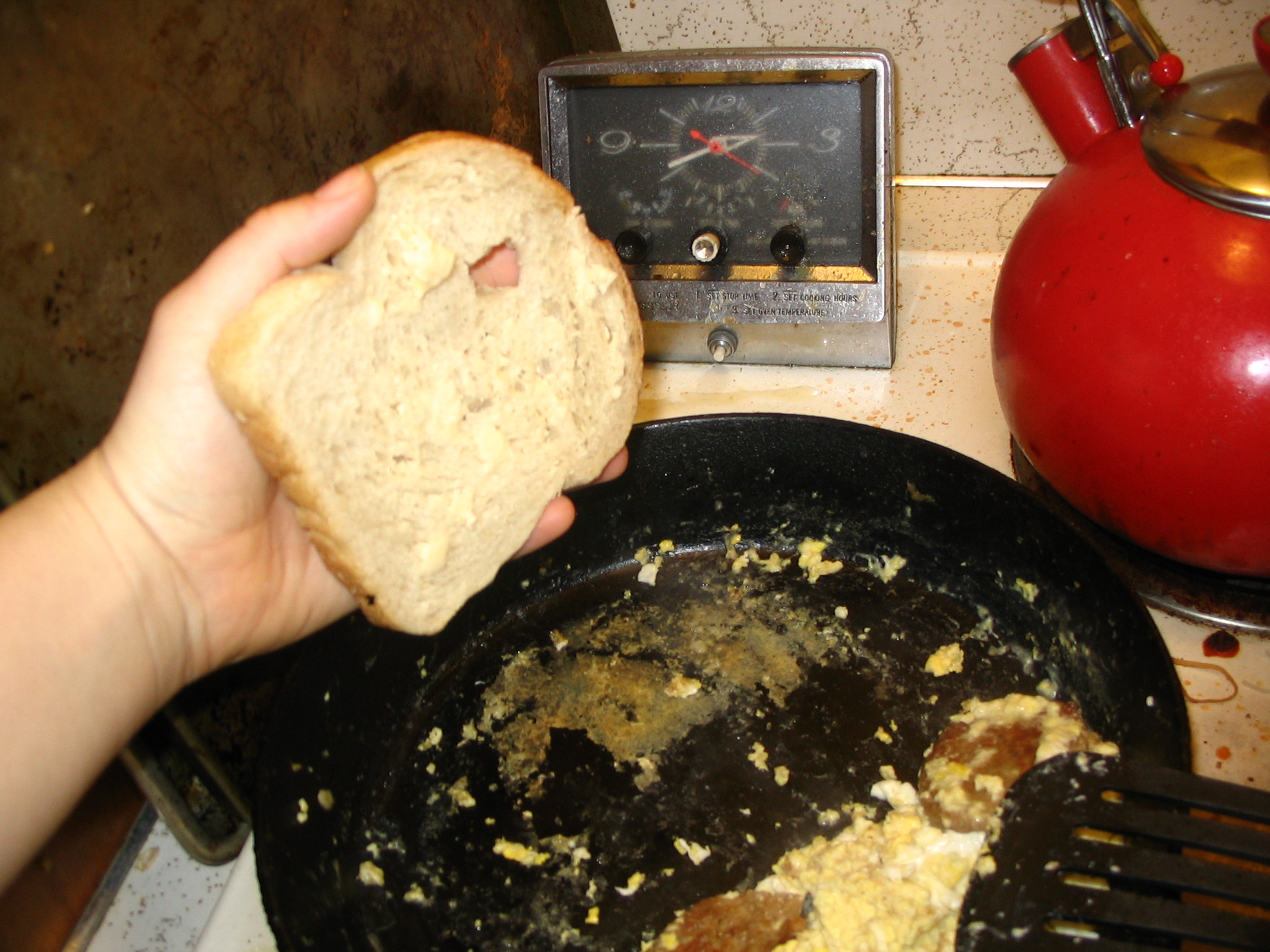 Picture of Adding the Bread