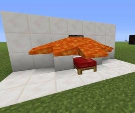 Minecraft Lava bed Trap