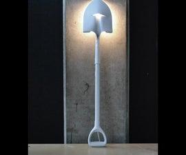 THE shovel lamp! by Samuel Bernier