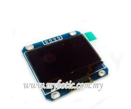 How to interface with OLED 1.3 Inch LCD128x64
