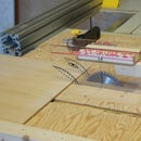 Mini Table Saw From a Rockwell 4 1/2in Saw