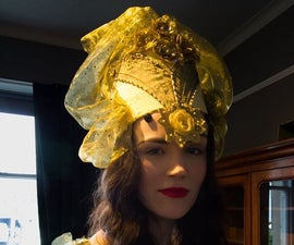 Kokoshnik Tutorial - Traditional Russian Headpiece Great for a Winter Wedding or Party
