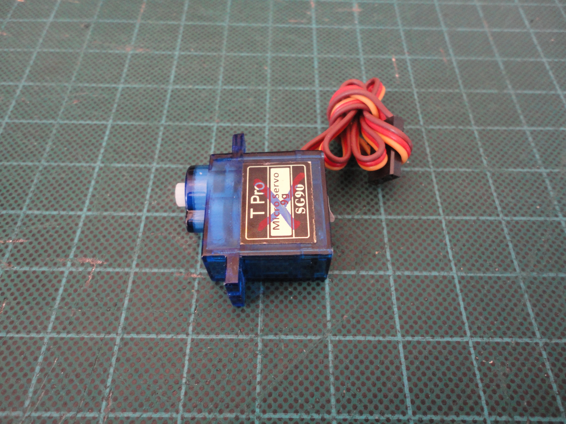 Picture of Servo to Motor Conversion