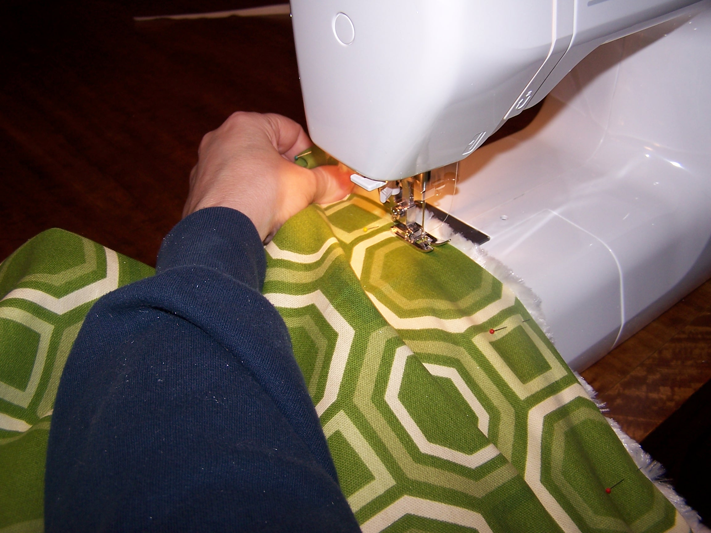 Picture of Sewing Top Rail and Zipper