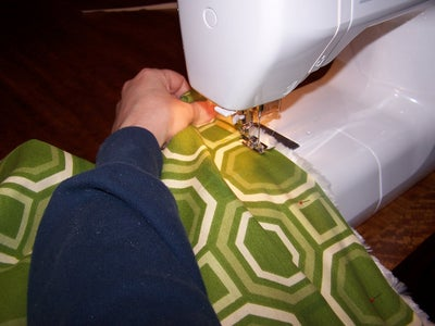 Sewing Top Rail and Zipper