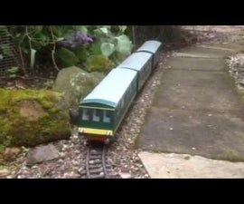 Garden Train - Arduino / Wireless DCC
