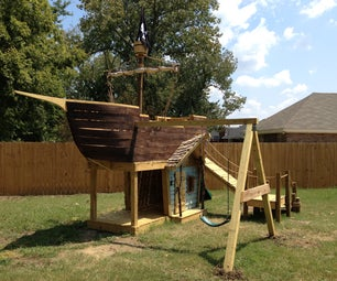 How to Build a Pirate Ship Playground