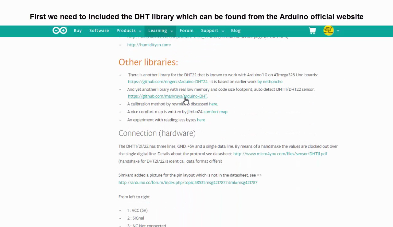 Picture of Library and Source Code