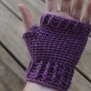 How to Crochet Adult Fingerless Mitts / Gloves