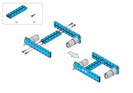 Construire Le Châssis Du Robot