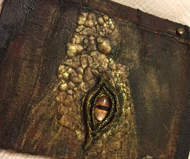 Make a Dragon Eye, Secret Compartment Book Introduction