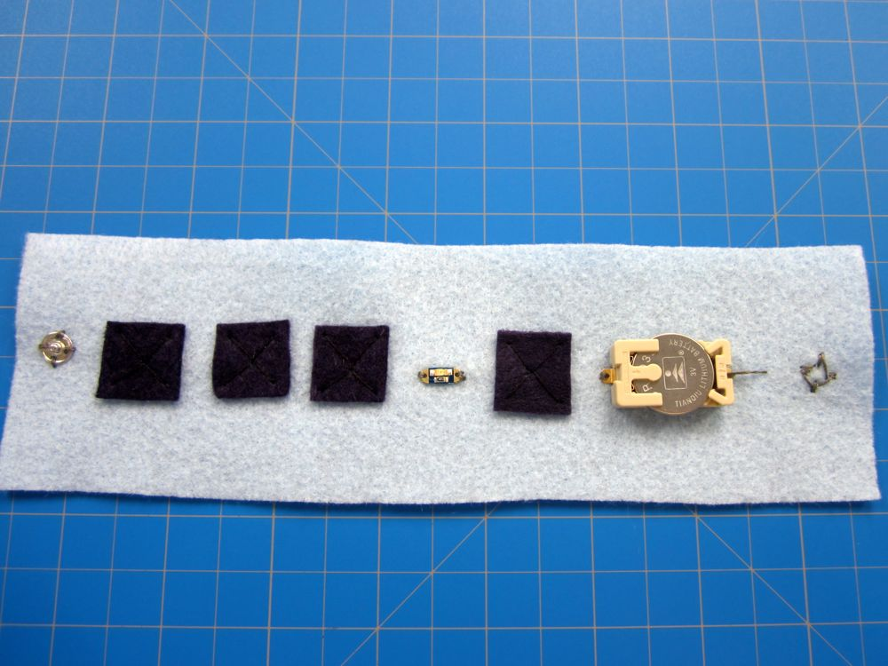 Picture of Conductive Sewing LED Bracelet