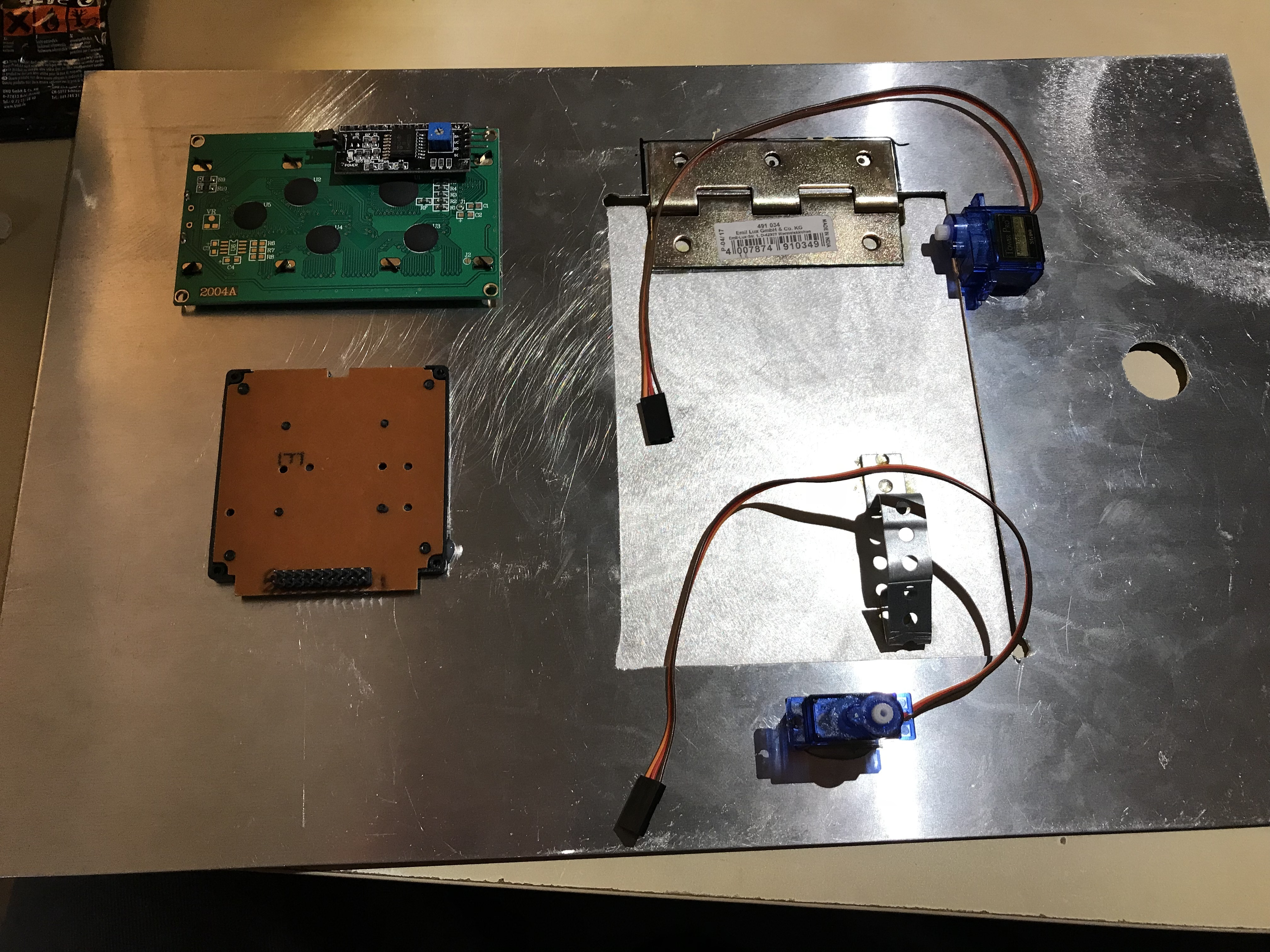 Picture of Building the Faceplate
