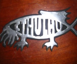 CTHULHU CAR DECAL!