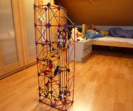 Spinning Freefall Lift, a Knex Ball Machine Lift