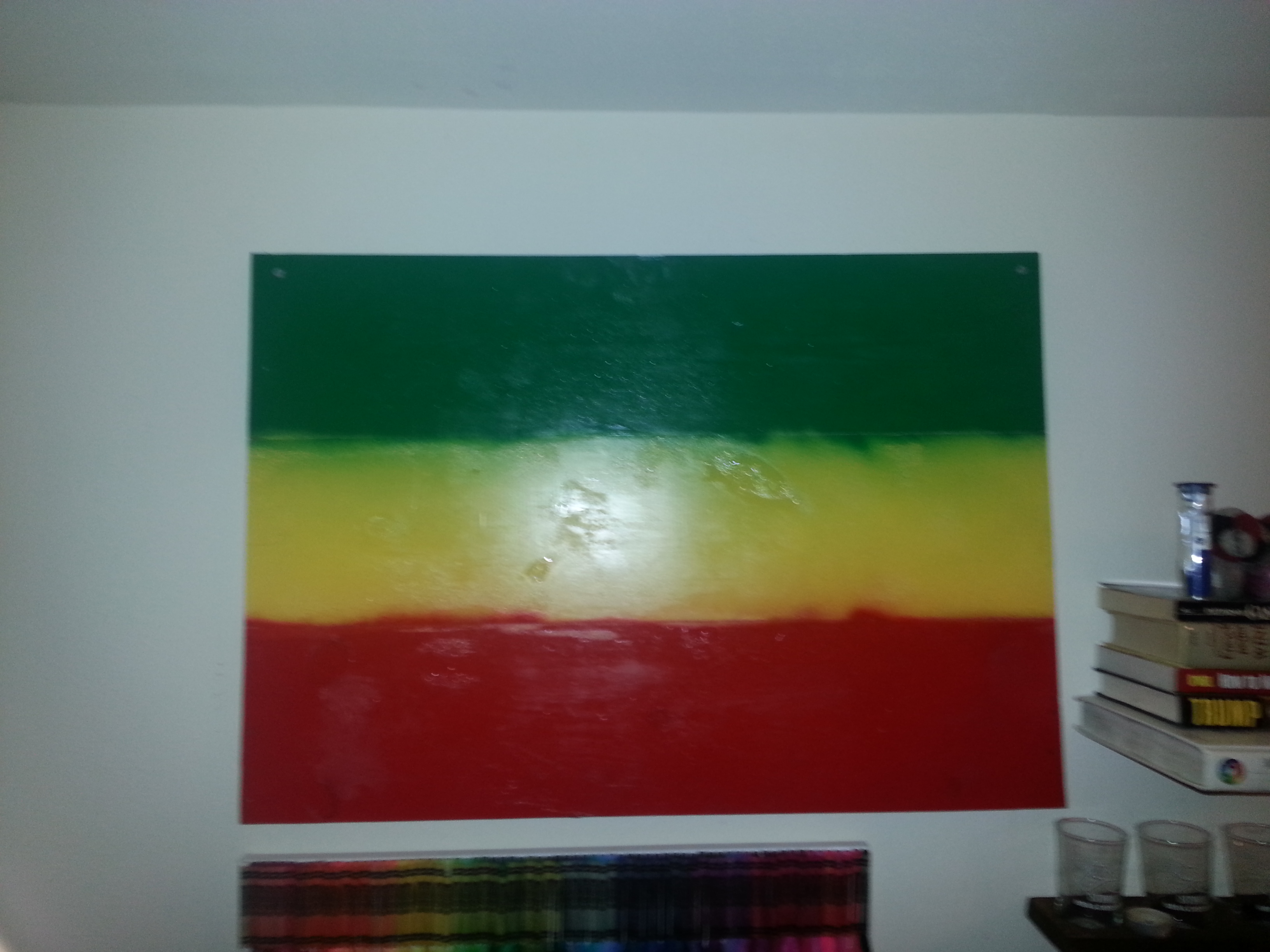 Picture of Free Wood Paint Art
