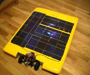 Building a Solar Powered R/C car