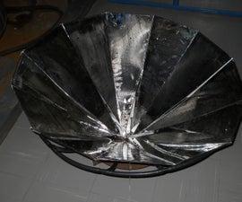 Compound Parabolic Petal Solar Cooker