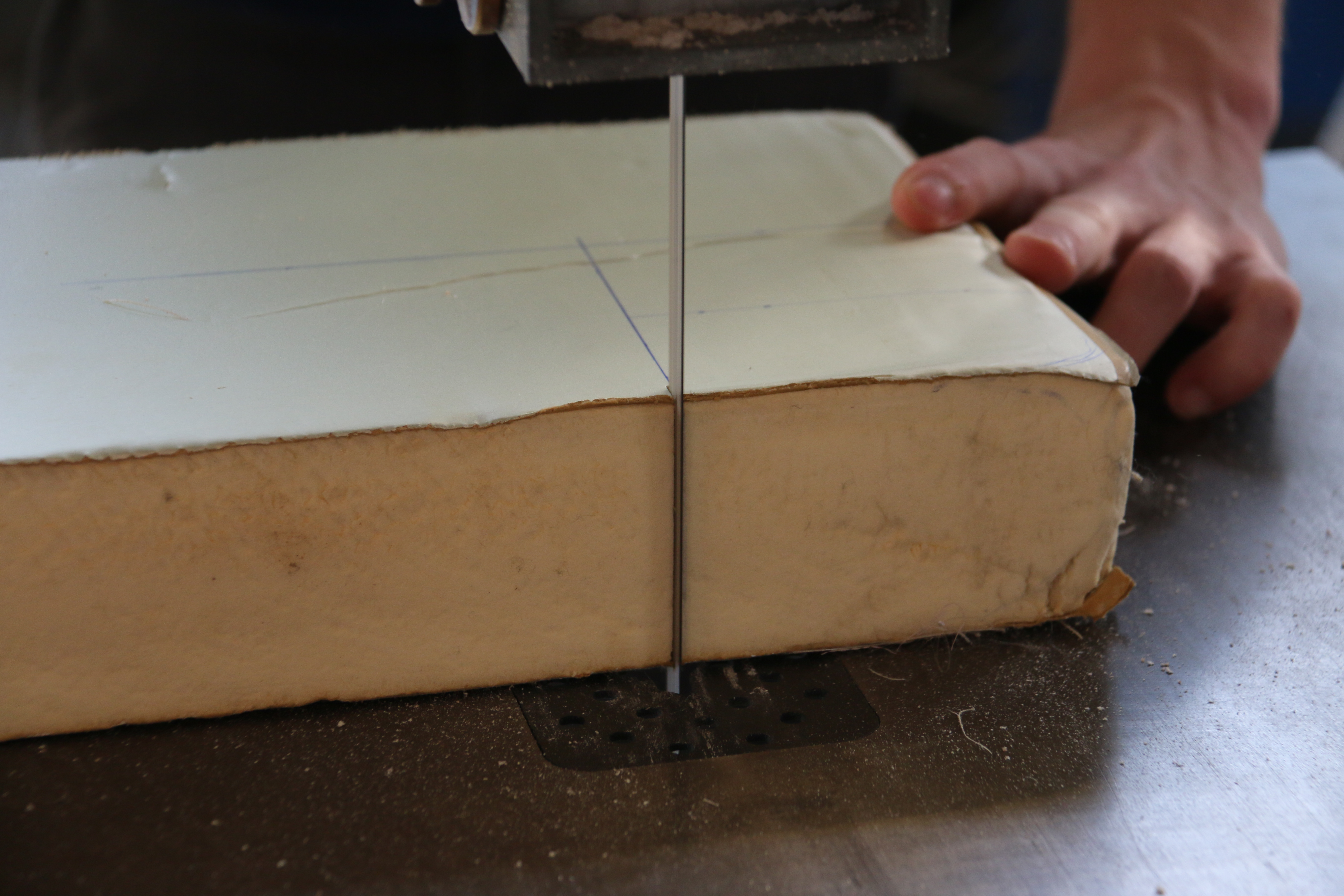 Picture of Cut the Polyurethane Foam