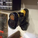 Wall Mounted Ski Boot Drill Holder