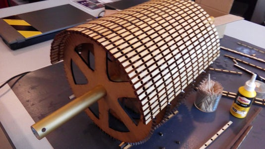 Cutting & Assembling the Wheel