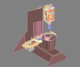 Continuous Top-Down DLP Experiments