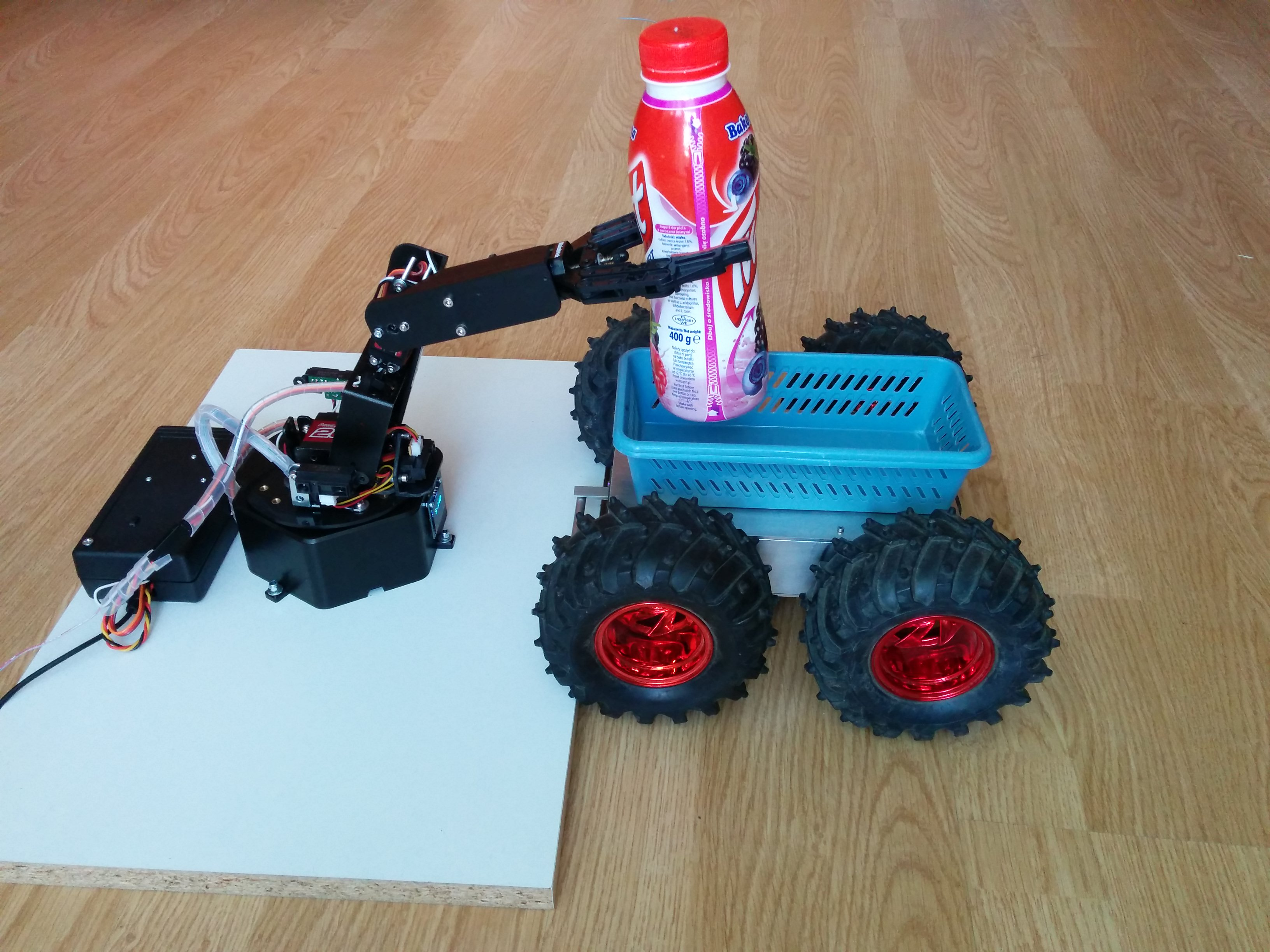 Picture of Remote Controlled Smart Robotic Arm