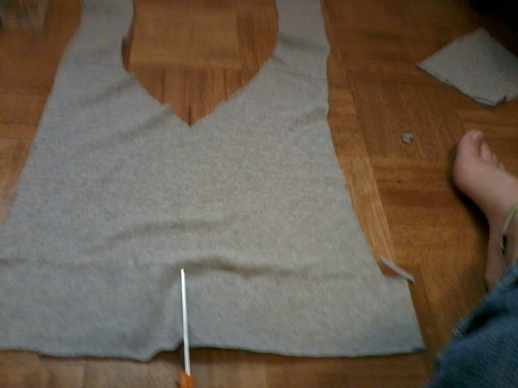 Picture of More Cutting of the Straps