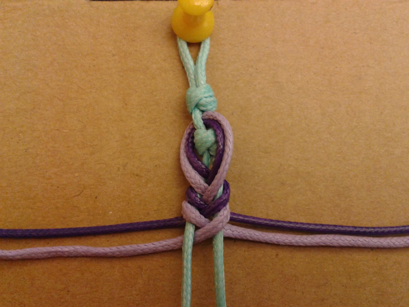 Как сделать браслеты на веревочках 211