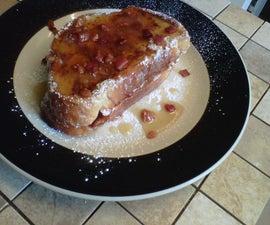 Bacon-Maple Mascarpone Stuffed French Toast