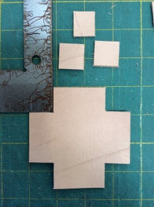 Cutting Corners to Form the Box.