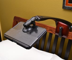 Carbon Fiber Tablet Mount - the Kindle Kradle