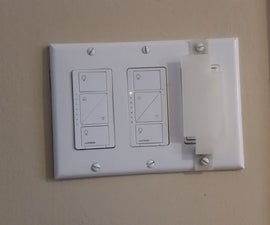 3D printed light switch guard