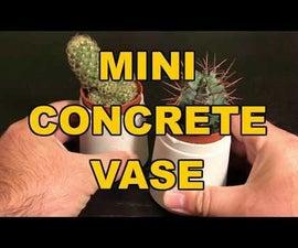 Mini Concrete Vase
