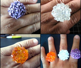 Super Easy Stone Rings