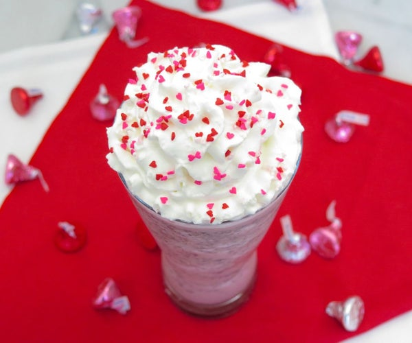 Valentine's Day Frappuccino Recipe