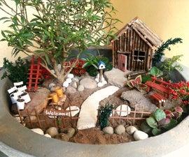 DIY Miniature Garden Accessories