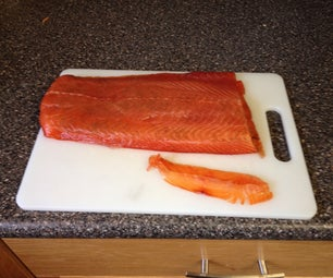 Cold Smoked Salmon With a Soldering Iron