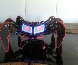 DIY handmade Hexapod with arduino (Hexdrake)