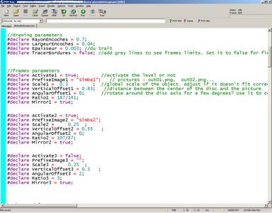 Edit the POV-Ray File