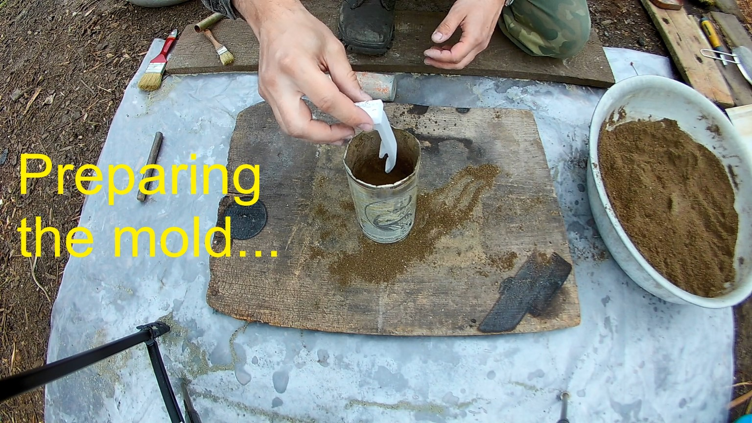 Picture of Preparing the Mold