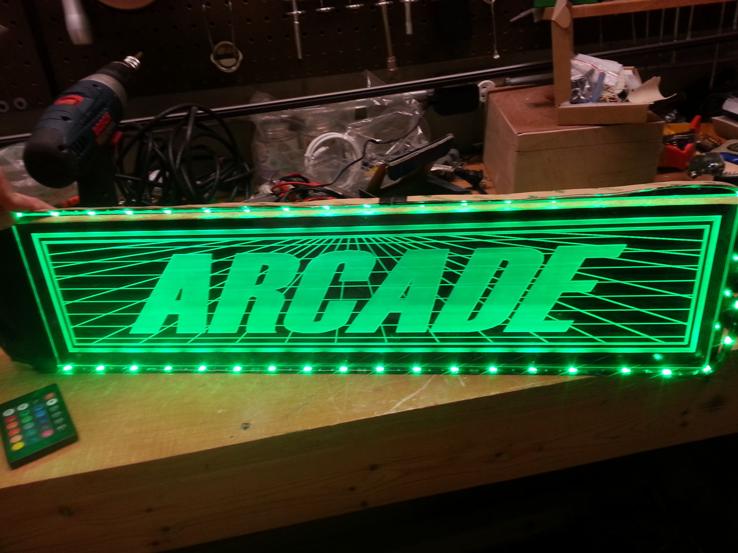 Picture of Edge Light Marquee With LEDs