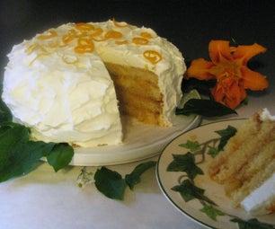 Heavenly Orange Marmalade Cake